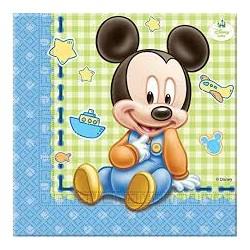Serwetki Baby myszka miki 20 szt