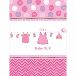 Obrus Baby girl  137 cm  x 259 cm