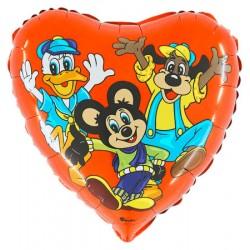 Balon 18'' Kaczka mysz pies Grabo