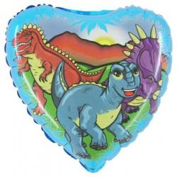 Balon 18'' Dinozaury Grabo