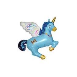 Pony Niebieski 14''