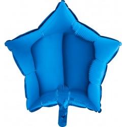 Balon Gwizdka Blue Niebieska 19200B