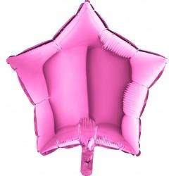 Balon 18'' Gwizdka Pink Różowa 19201F
