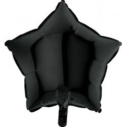 Balon 18'' Gwizdka Black Czarna 19204K