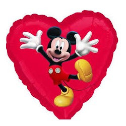 Mickey Mouse  Anagram 18'' Luz