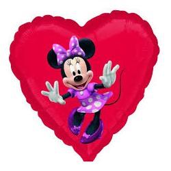 Minnie Mouse Anagram 18'' Luz