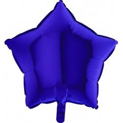 Balon 1 szt 18'' Gwiazdka Blue Capri Granatowa 19210BC