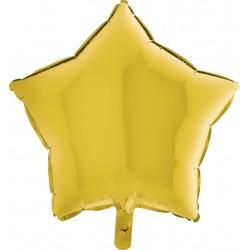 Balon 1 szt 18'' Gwiazdka Pastel Yellow Żółty pastel 19216PY
