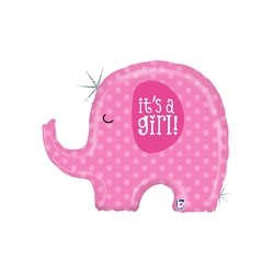 It's A Gilr Elephant  INT 35584H-P
