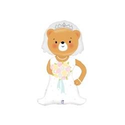 Linky Bride Bear 43''  INT 35594-P