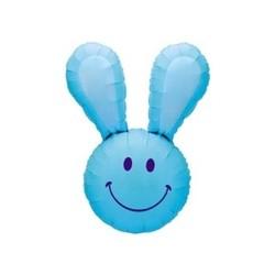 Smiley Bunny Blue INT 15355B-P