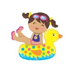 Girl Floatie INT 35247-P