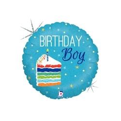 Birthday Cake Boy 18'' INT 36276H-P