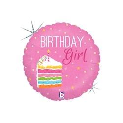 Birthday Cake Girl 18'' INT 36277H-P