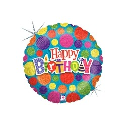 Dot Dot Birthday 18'' INT 36276H-P