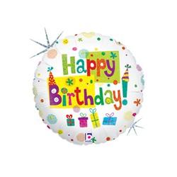 Happy Birthday Party 18'' INT 86142H-P