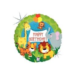 Jungle Animals Birthday 18'' INT 36569H-P