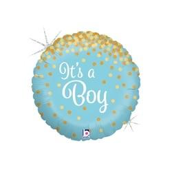Glittering It's A Boy 18'' INT 36586GH-P