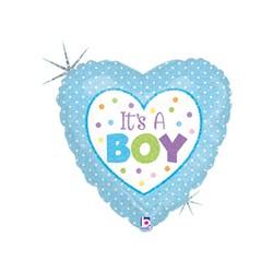 Baby Boy Dots 18'' INT 86898H-P