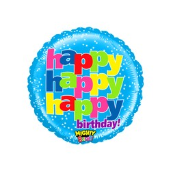 Mighty Birthday Wishes 21'' INT 14574WE-P