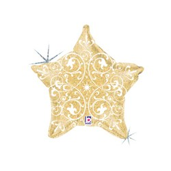 Filigree Gold Star 21'' INT 35074H-P