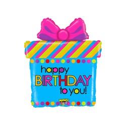 Mighty Birthday Present 27'' INT 35012WE-P