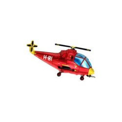 Helikopter Czerwony