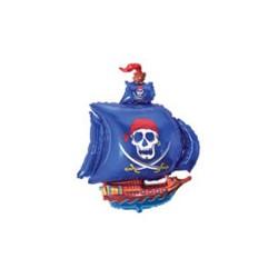 Statek Piracki Niebieski