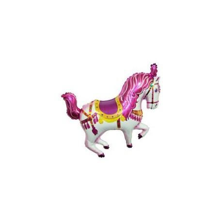 Koń Cyrkowy Różowy