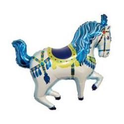 Koń Cyrkowy Niebieski