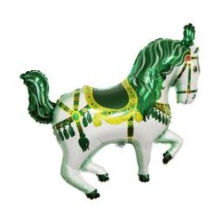 Koń Cyrkowy Zielony