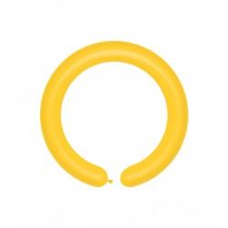 Rurki Pastel Żółty 100 szt