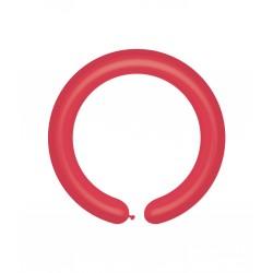 Rurki Pastel Czerwone 100 szt