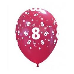 Numerek 8 Mix Kolorów
