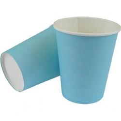 Kubeczki Papierowe Niebieskie 8 szt