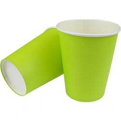 Kubeczki Papierowe Zielone 8 szt