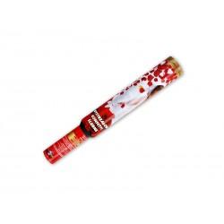 Granat Płatki Róż i Sereca Tuba z Konfetti 50 cm