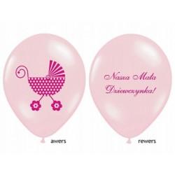 Mam Roczek Miś Różowy Balon Guma 14''