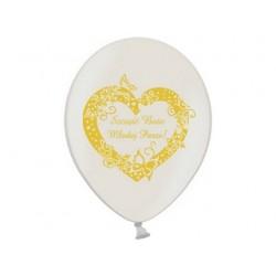 Wiwat Młodzi Gołąbki Biała Perła  Balon Guma 14''