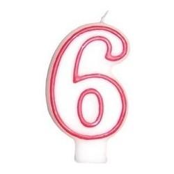 Świeczka numerek 5